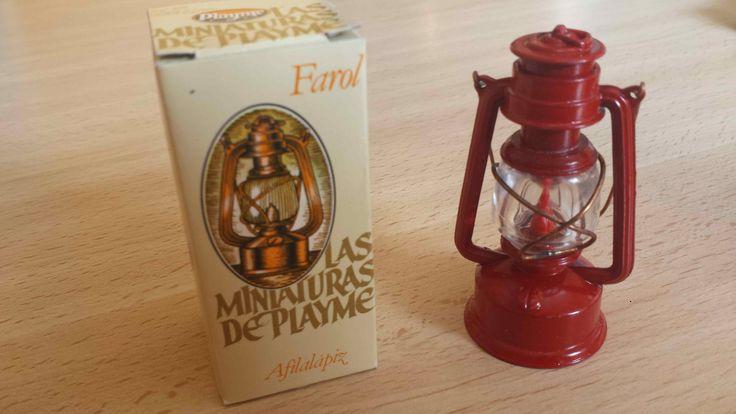 Sacapuntas Farol antiguo, marca Playme, en color y con su caja original. Hecho en España en los años 70-80. (Antique pencil sharpener) . Cómpralo instantáneamente en Ebay: http://www.ebay.es/itm/sacapuntas-Farol-rojo-antiguo-antique-pencil-sharpener-/122057565327?hash=item1c6b32a48f:g:IKoAAOSwygJXhk1g