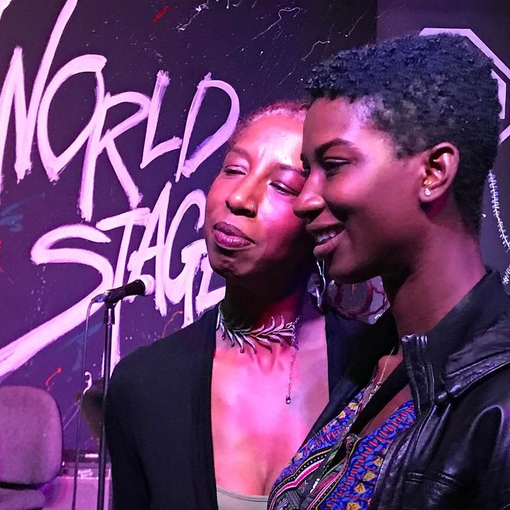 These Beautiful and elegant ladies are proud mother and musician Waberi Jordan and her daughter Sabaah Folayan director/producer of WHOSE STREETS. A must see documentary about the Fergusson uprising. Join us at PAFF Sunday 3:55 Rave theaters Baldwin Hills Crenshaw. Whosestreets.com
