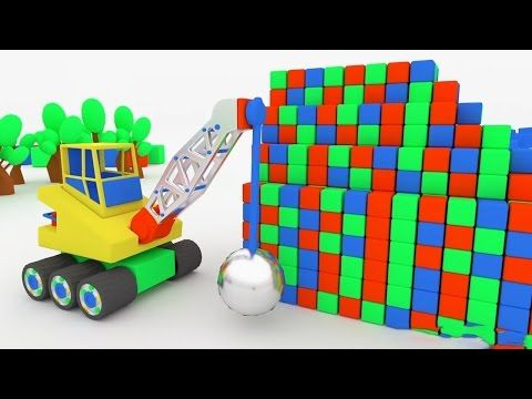 3D Monster Trucks Superheroes - Spiderman Vehicles For Kids And Others - Video For Kids - YouTube