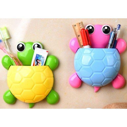 Fogkefe tartó teknős
