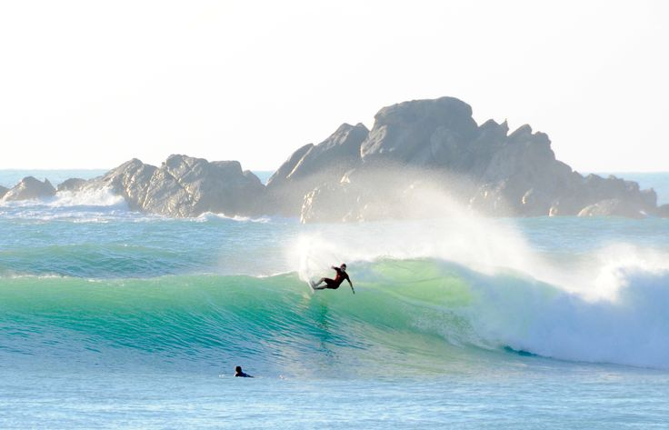amazing view and great surfer