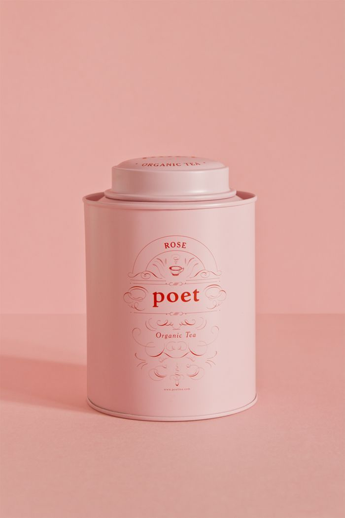 Spanish agency Studio Pattern designed this elegant and simple packaging  solution for Poet Tea.