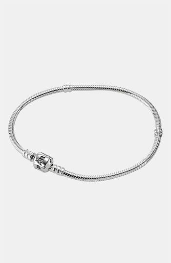 Pandora Sterling Silver Charm Bracelet.  It's time I get a grown up charm bracelet since I never got one when I was younger