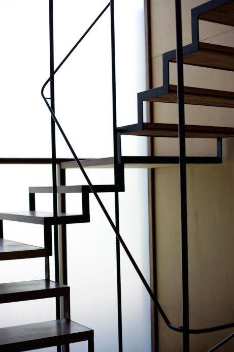 escalier !