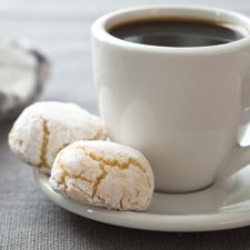 A traditional, naturally gluten-free Italian cookie perfect alongside coffee.