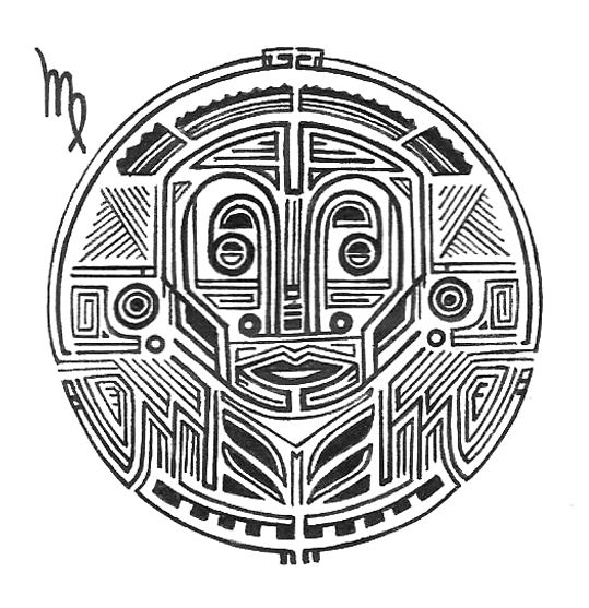 Zodiac horoscope sign of Virgo
