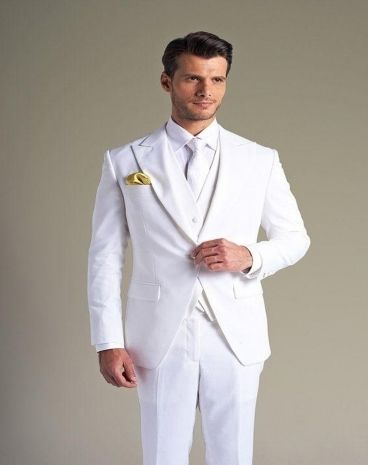 High Quality Cheap White Suits For Men