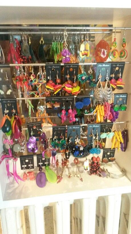 Colorful jewellery for ur ears :)