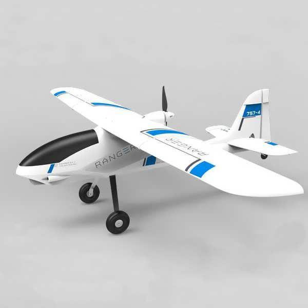 Volantex Ranger 757-4 FPV 1380mm Wingspan EPO RC Airplane KIT         Description: Brand Name: Volantex Item Name: Ranger 757-4 Airplane Wingspan: 1380mm Flying Weight(without battery): 800g Motor Size: 2812/1400KV powerful out runner brushless motor(not included) ESC: 30A brushless ESC(not...