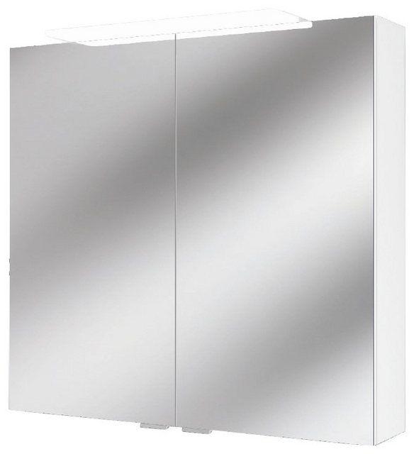Spiegelschrank Lightblade Weiss 72 Cm Breite Spiegelschrank