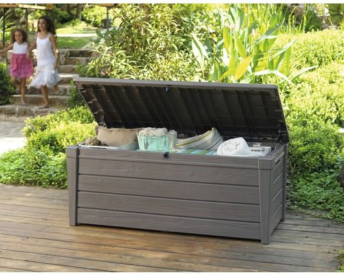 KETER opbergbox Brightwood, taupe, 145 x 69 x 61 cm