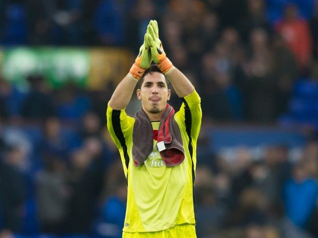 Joel Robles wants to prolong Everton stay with new contract