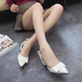 Buy 'QQ Trend – Pointy Slingback Patent Pumps' with Free International Shipping at YesStyle.com. Browse and shop for thousands of Asian fashion items from China and more!