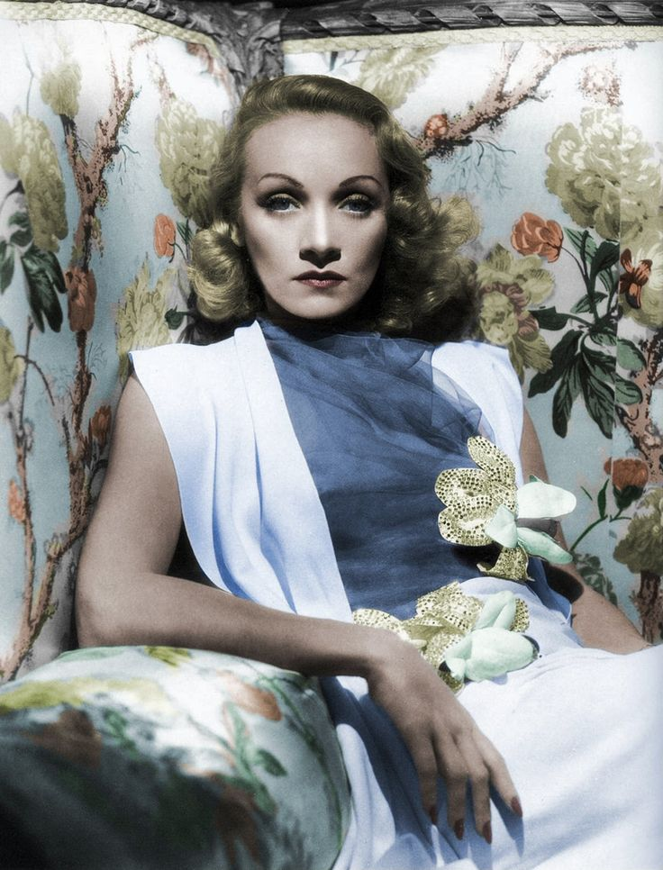 Marlene Dietrich - Femme Fatale, beautiful dame, intelligent woman, and staunch anti-Hitlerite