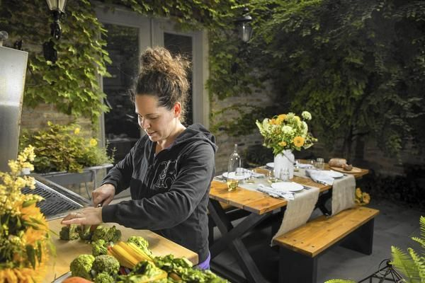 'Top Chef' winner and Girl and the Goat star chef shares her secrets for easy, fun backyard barbecues