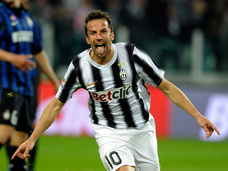 L'Unico Capitano, la Bandiera...la Leggenda!  Alex Del Piero