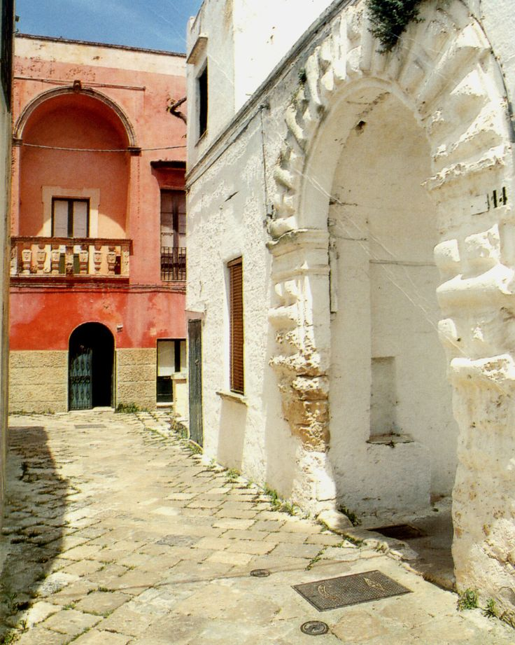 Specchia. So typical (street, buildings, colors...) of Salento, the heel of the italian boot, my home