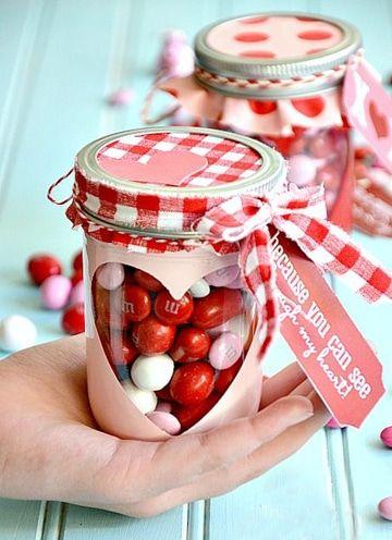 arreglos para el 14 de febrero con dulces sencillos