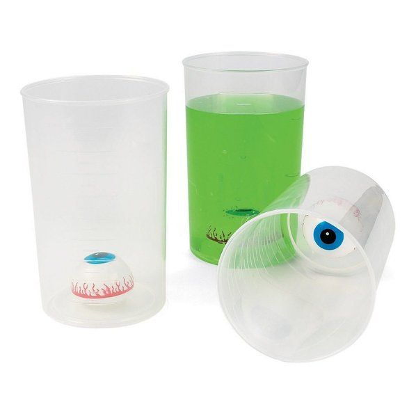 Check out Halloween Eyeball Beaker Cup (Each) - Zombie and Individualized Party Supplies from Birthday In A Box