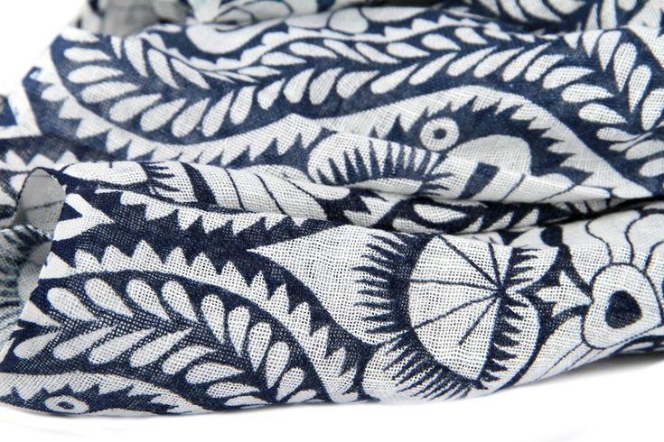 Grand coup de coeur pour cette magnifique maxi écharpe en lin naturel et coton. Vous serez envoûtés
