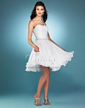209 best Second Wedding Dress Ideas images on Pinterest   Short ...