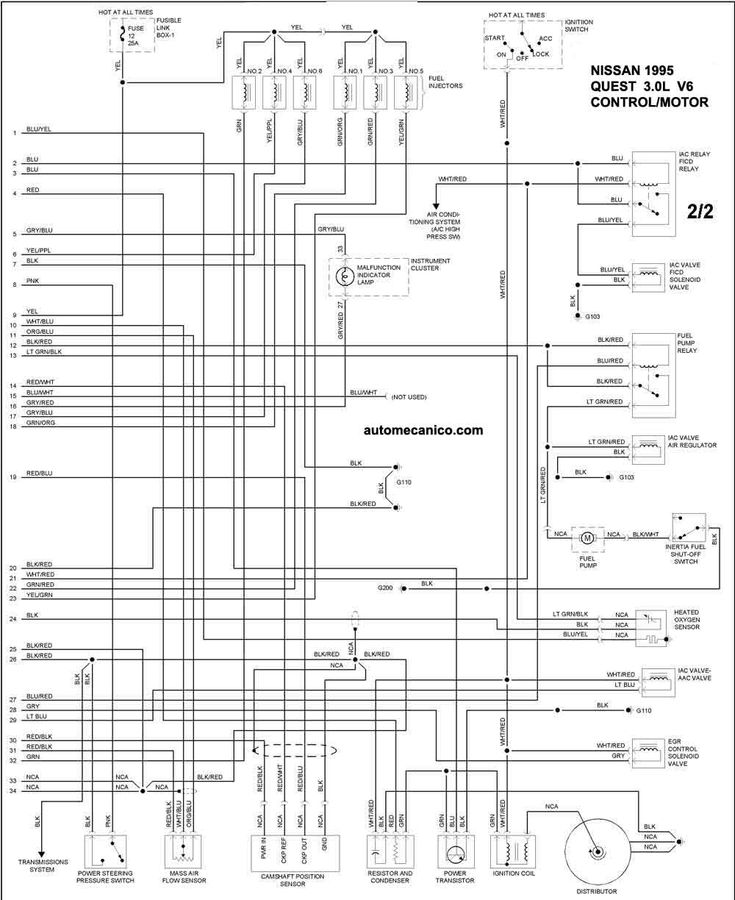 2006 Kia Sedona Wiring Diagram Starting