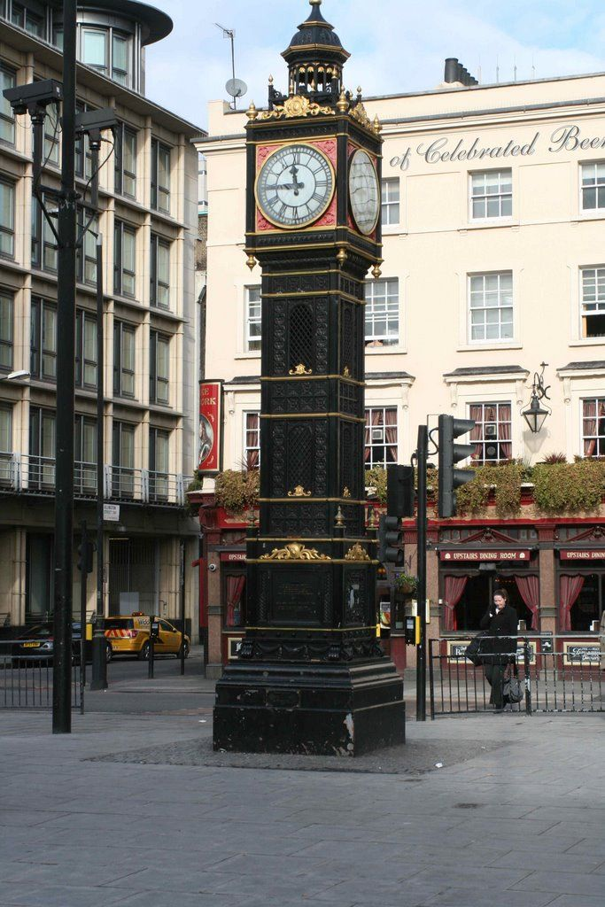 Little Ben is a cast iron miniature clock tower situated at the intersection of Vauxhall Bridge Road and Victoria Street in Westminster, London. Its design mimics the famous Clock Tower at the Palace of Westminster. Erected in 1892. Little Ben was removed in 2012 and put in storage during upgrade works to Victoria Station and will be reinstated once the works are completed in 2016 (hopefully)