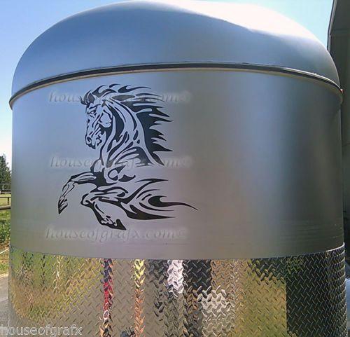 Best Horse Trailer Decals Images On Pinterest Horse Trailers - Decals for trucks customizedhorse decals horse stickersgraphics for horse trailers