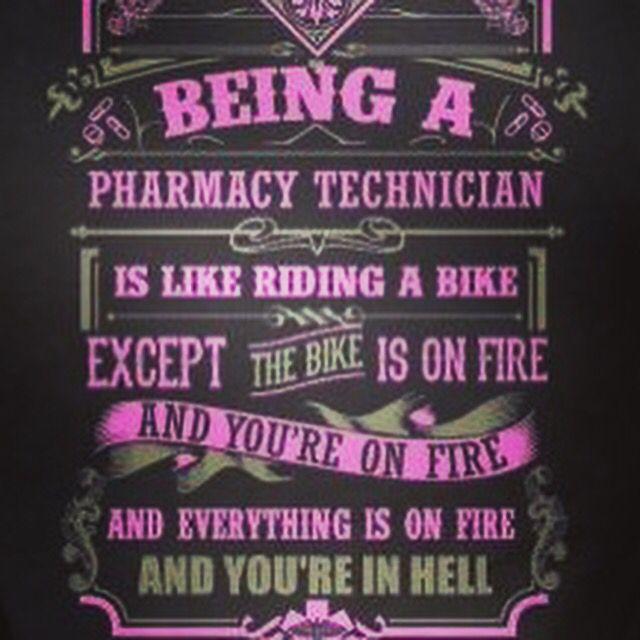 Truth! Pharmacy technician humor.