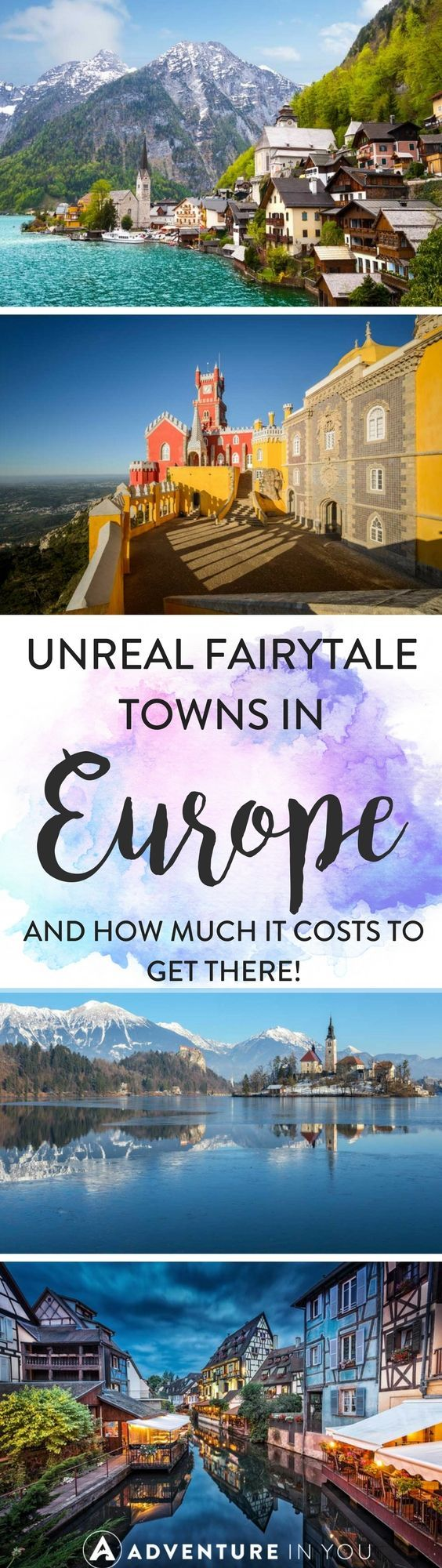 Europe Travel | Looking for some inspiration for a trip to Europe? Here are a few unreal fairytale looking towns that you have to visit during your next trip to Europe