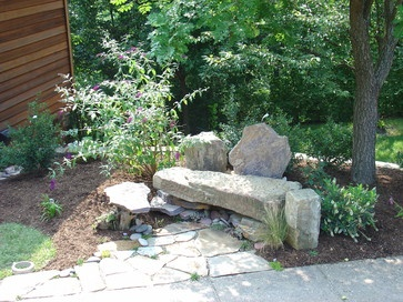 Best 25+ Stone Bench Ideas On Pinterest | Stone Garden Bench, Fire Pit And  Seating Area And Boulder Retaining Wall