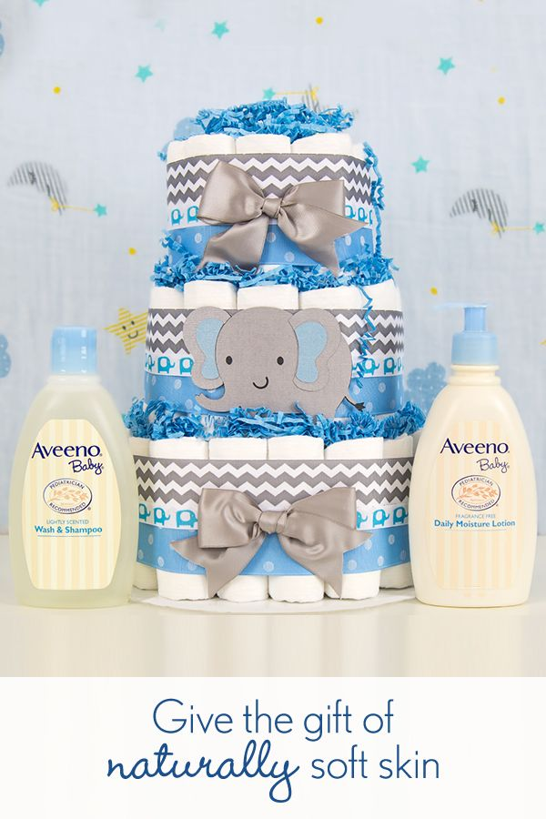 Looking for a registry gift you can use on baby's very first day? Give your baby the gift of soft, healthy-looking skin with AVEENO® Baby Wash & Shampoo and Daily Moisture Lotion. Plus, it's safe to use as soon as the doctor finishes counting their fingers and toes.