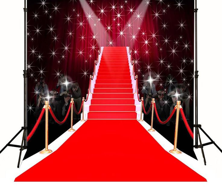 >> Click to Buy << Red Carpet  Paparazzi Hollywood Photography Backgrounds High-grade Vinyl silk cloth Computer printed party wedding backdrop #Affiliate
