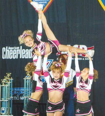 Youth Cheerleading Pyramids | Cheerleading Stunts