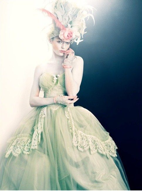 pastel fairy gown: Pastel, Fashion, Ball Gowns, Marie Antoinette, Dresses, Wedding Dress, Has