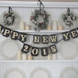 Happy New Year 2015 Banner: