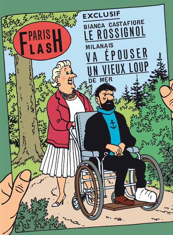 Les Aventures de Tintin - El capitán Haddock