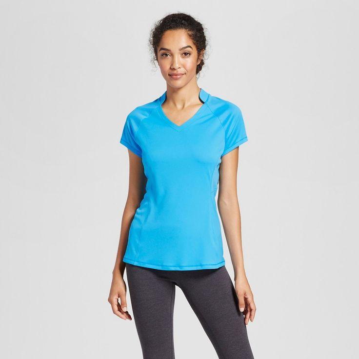 Women's Golf Short Sleeve Top - C9 Champion Hydro Blue S