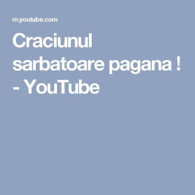 Craciunul sarbatoare pagana ! - YouTube