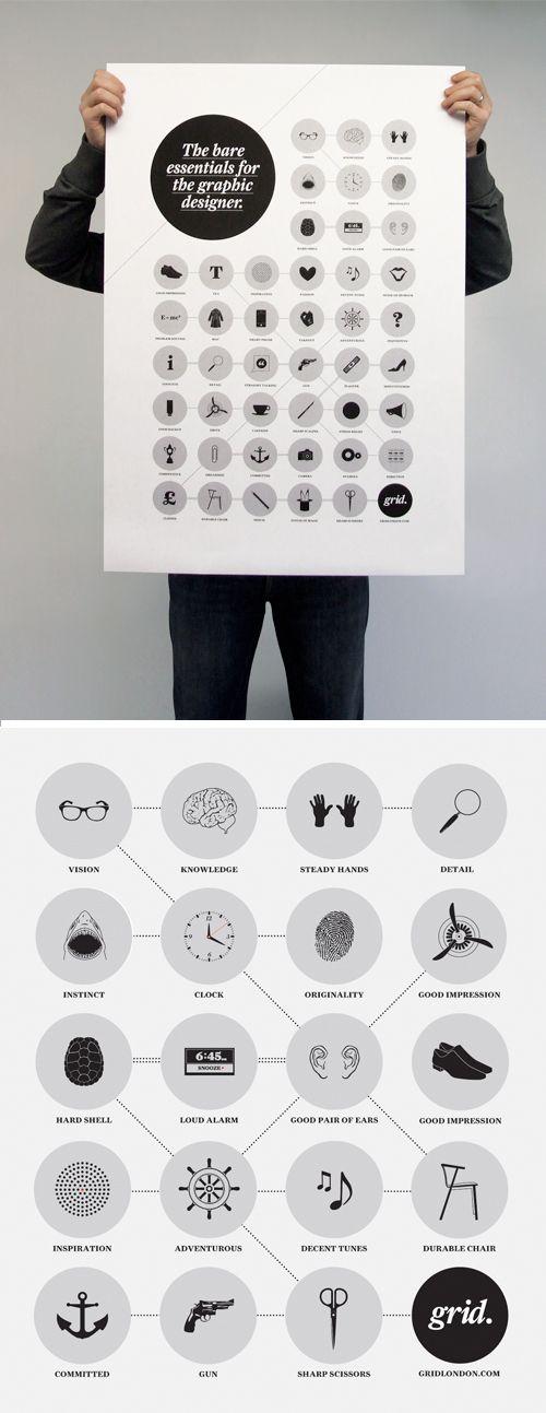 Grid's Bare Essentials for the Graphic Designer
