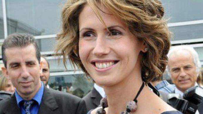 Bashar al-Assad Wife   asma-bashar-president-al-assad.si.jpg