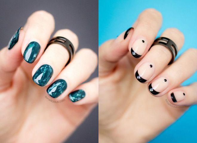Наращивание ногтей акрилом материалы за