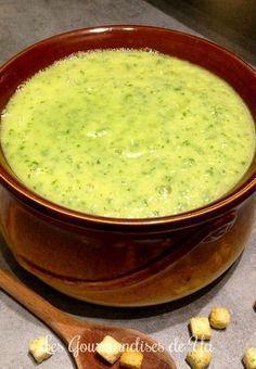 Soupe panais, poireau et persil