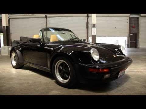1986 Porsche 911 Cabriolet - Up Close & Personal