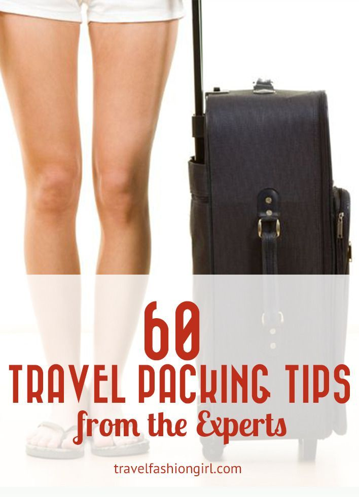 60 Travel packing tips from the experts help make your trip planning easier! The top travel bloggers in the business share their best packing tips with you!