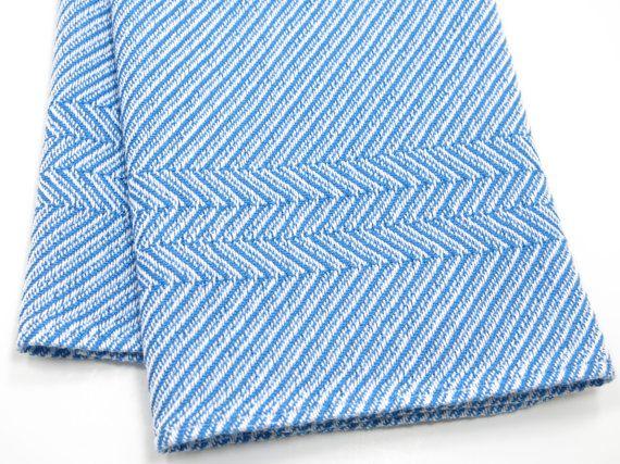 Blue Kitchen Towel Handwoven