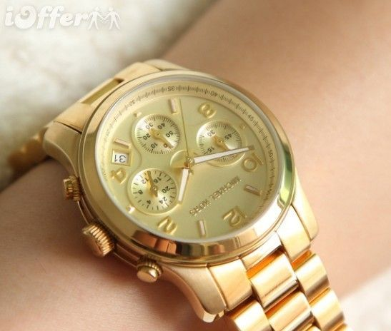 gold watch.... thinking it might go