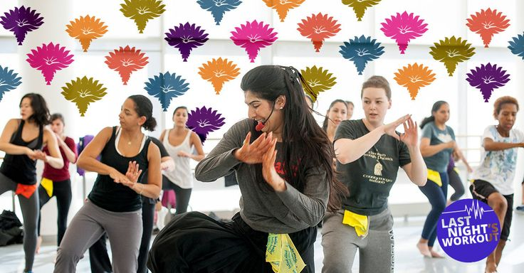 "Started 15 years ago by ""The Jane Fonda of India"" Sarina Jain, this fun and upbeat dance class combines the cardio efficiency of aerobics with the poweful, sexy movements of Bollywood dance."