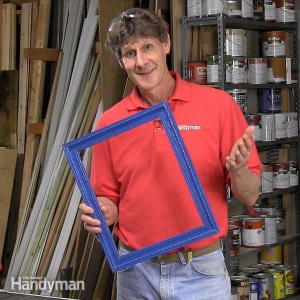 Watch this video and learn how to make picture frames with eight flawless mitered corners in less than an hour!