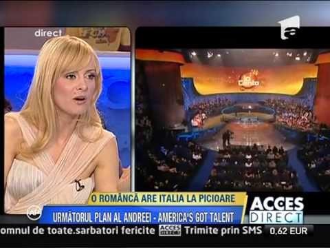 Acces Direct  O romanca are Italia la picioare